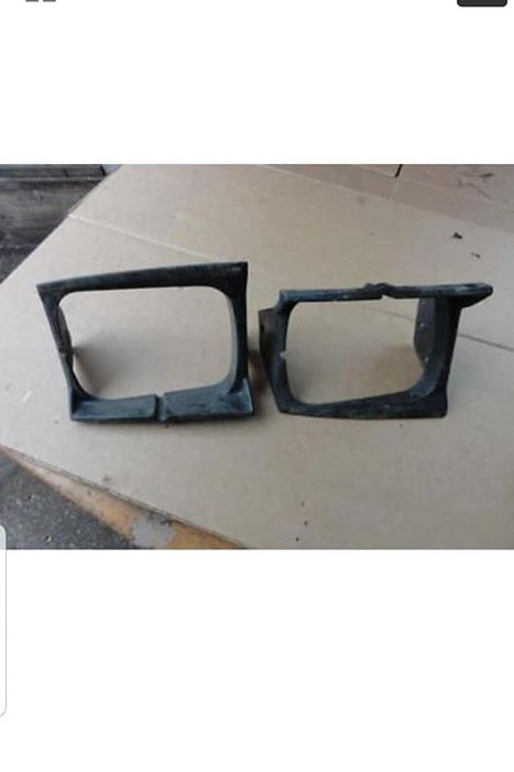 Toyota MR2 MK1 headlight surrounds