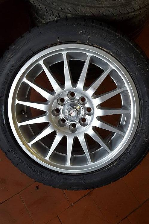 Toyota MR2 MK1 multi spoke  alloy wheels 15