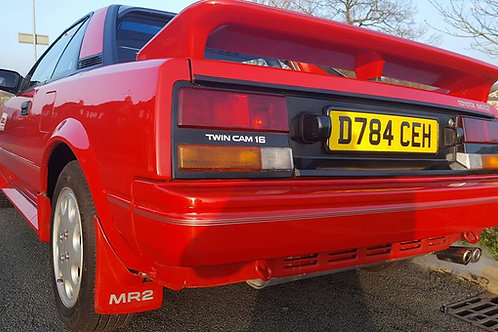 Toyota mr2 mk1 sunroof super red 94k miles SOLD SOLD SOLD