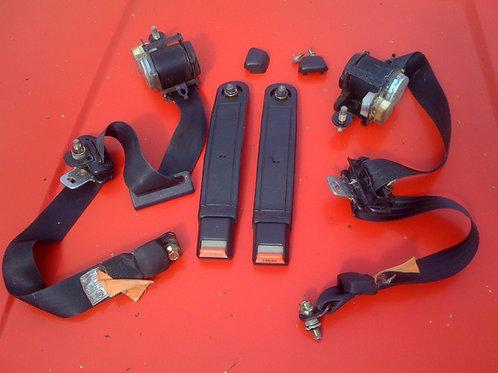Toyota MR2 MK1 seat belt anchors