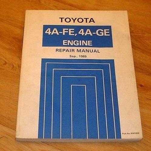 Toyota mr2 mk1 engine repair manual