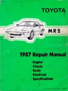 Toyota mr2 mk1 wiring diagrams