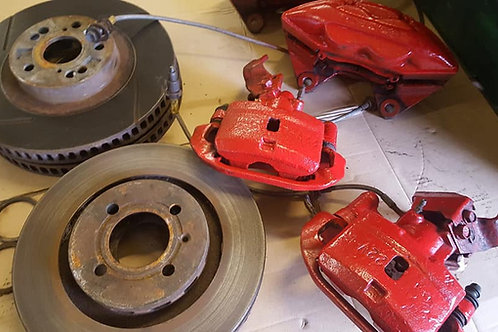 Toyota mr2 mk Celica brake set uppgrade