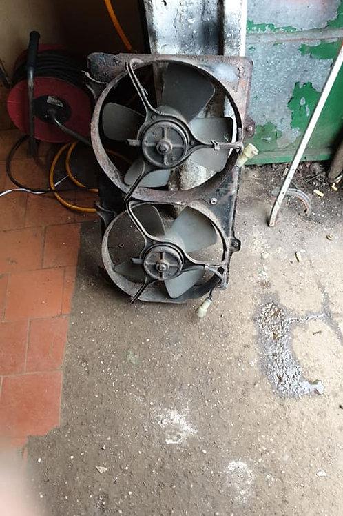 Toyota mr2 mk1 radiator fans in GWO