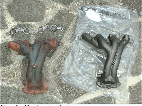 Toyota mr2 mk1 exhaust manifold headers
