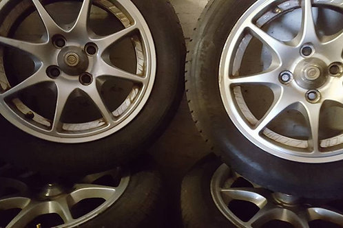 Toyota MR2 MK1 multi spoke  alloy wheels 185 60 14
