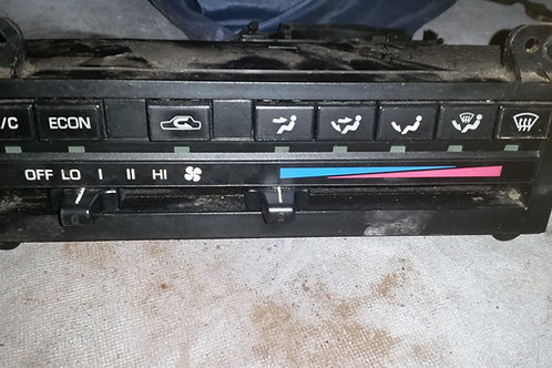 Toyota MR2 MK1 Air Heater Controls