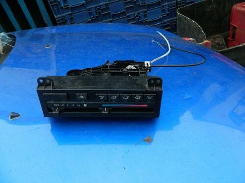 Toyota MR2 MK1 heater controls