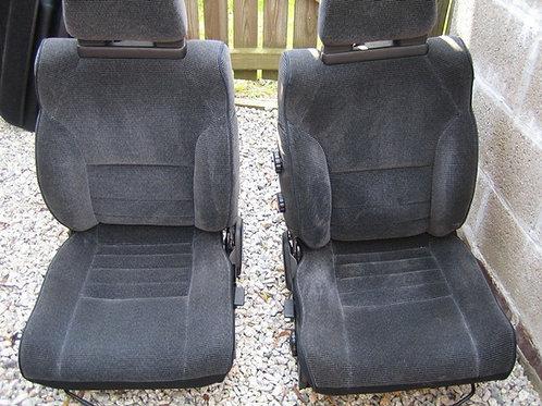 Toyota MR2 MK1 Black and charcoal seats