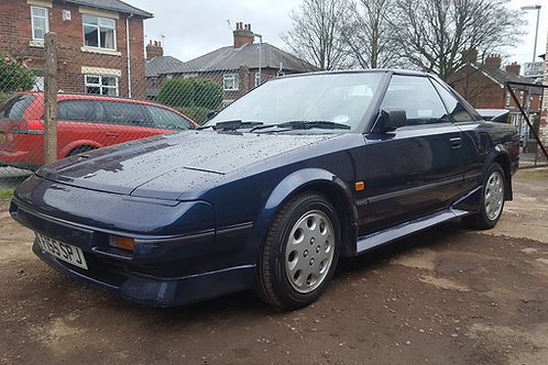 Toyota mr2 mk1 T bar Targa MIca blue