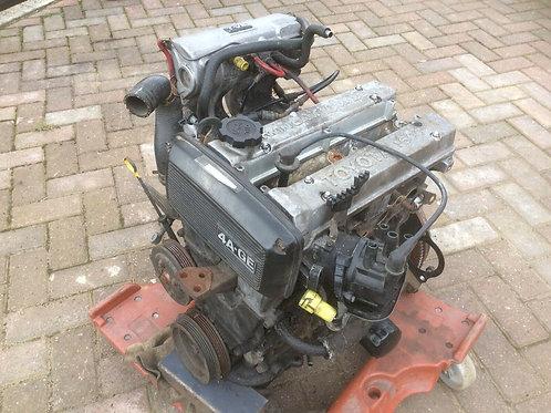 Toyota MR2 MK1 engine bottom engine rebuilt