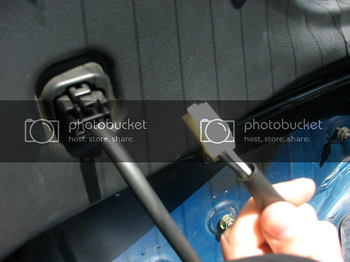 Toyota MRS Roadster spyder MR2 hardtop defrost cable
