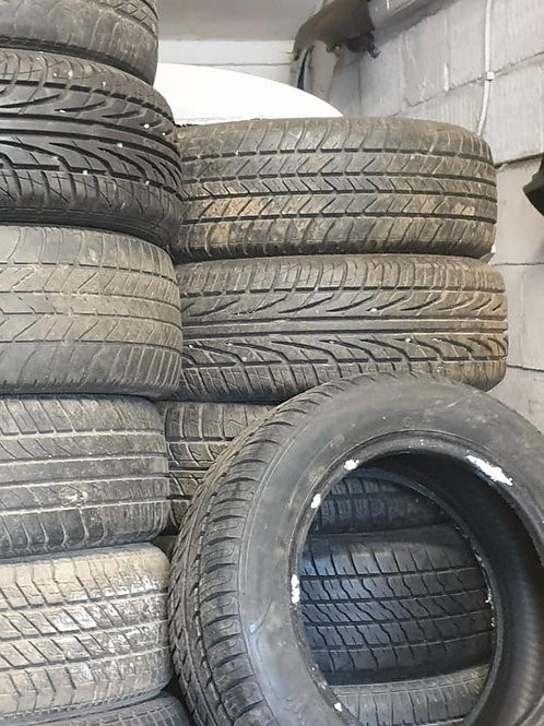 185 60 14 Tyres all branded with around 4 to 5 mm tread