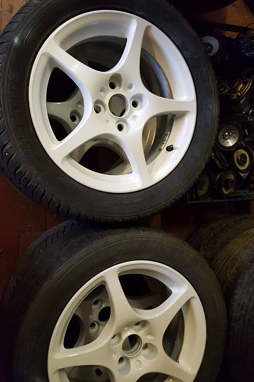 Toyota MR2 MK3 alloy wheels and tyres