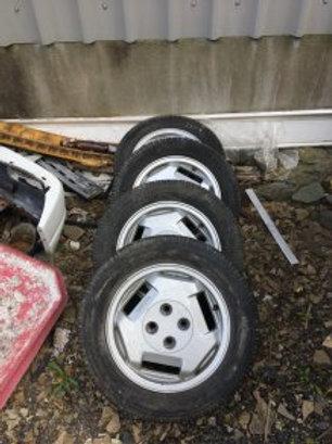 Toyota MR2 MK1 Alloy Wheel Caps