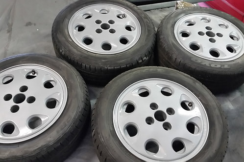 Toyota MR2 MK1 Pepper Pot Alloys 4