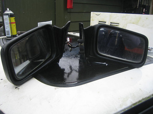 Toyota mr2 mk1 mirror left or right black