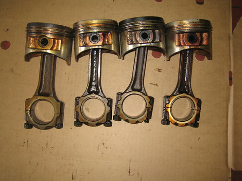 Toyota MR2 MK1 pistons and Connecting Rods