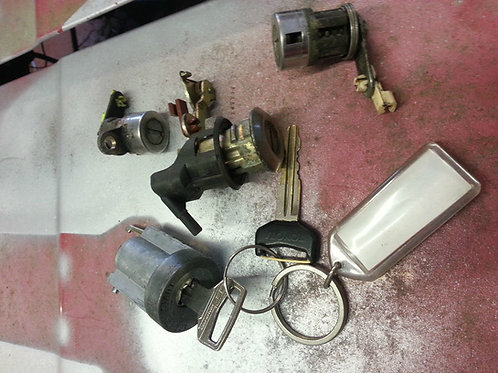 Toyota MR2 MK1 lock set complete
