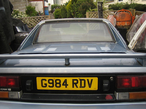 Toyota MR2 MK1 rear boot spoiler
