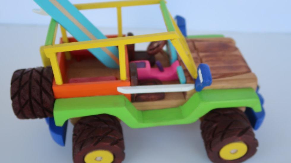 """Joe's Handmade Custom Toy Trucks #8 """"Beach Cruiser"""""""