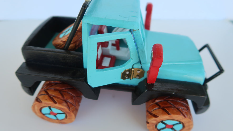 "Joe's Handmade Custom Toy Trucks #11 ""Blue Cab Jeep"""