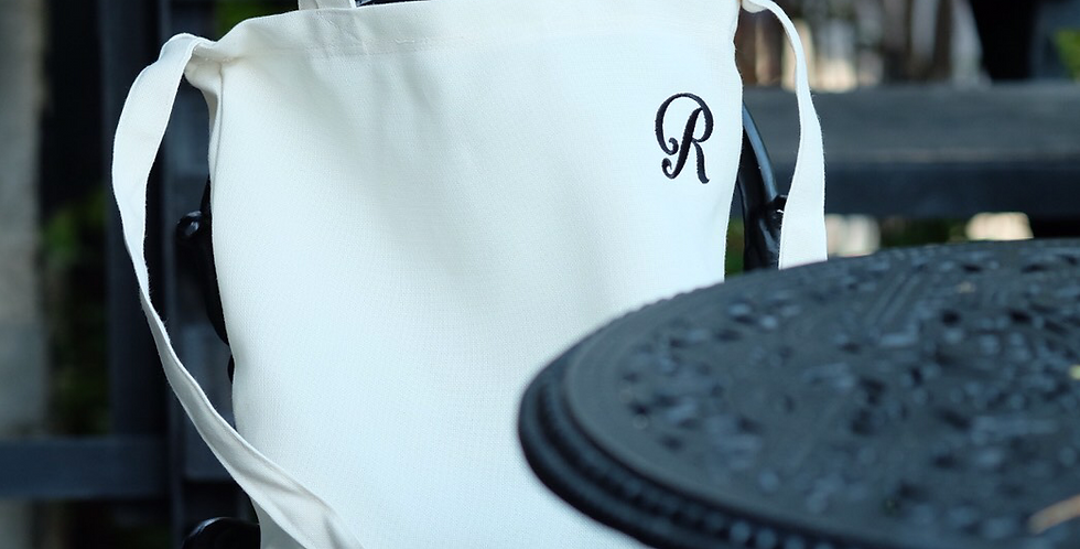 URBAN TOTE BAG by Rosemanclub - IVORY WHITE