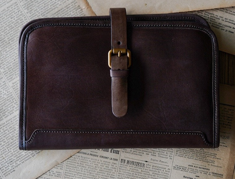 PICASSO SKETCH BAG in CIGAR BROWN