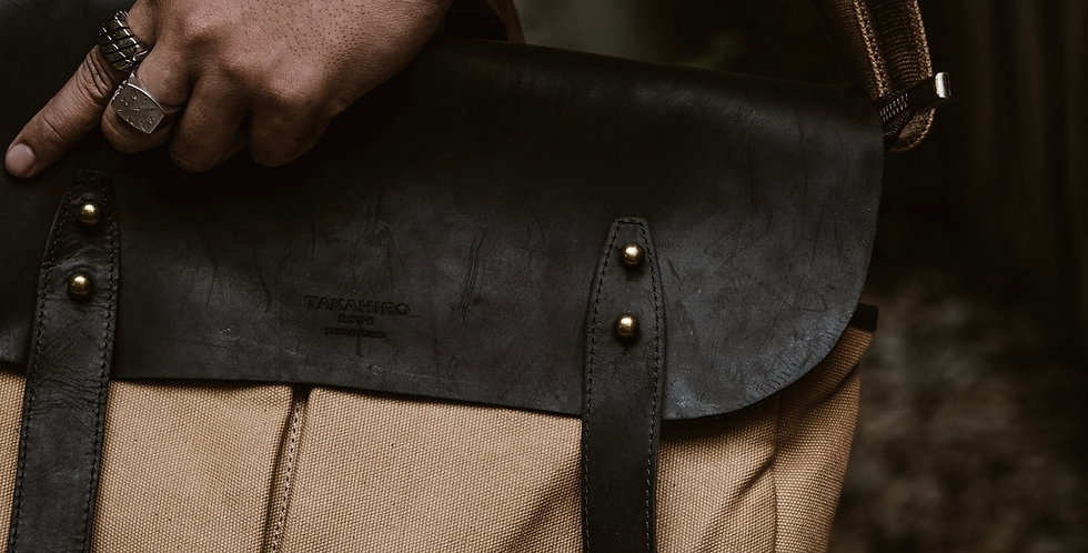 SPECTER BAG by TAKAHIRO TOKYO - CAMEL