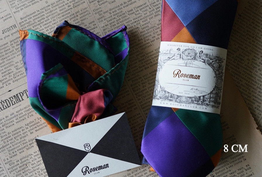 ROSEMAN NECKTIE + SQUARE POCKET (Set 19-23)