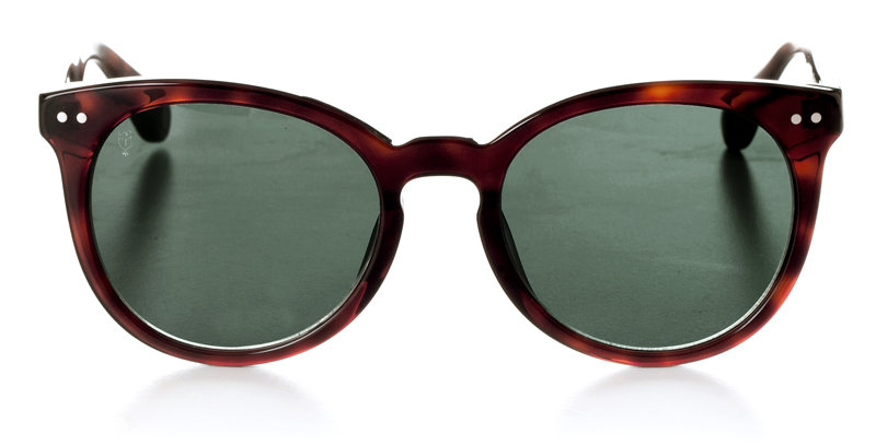 YUU BROWN WHISKEY - SUNGLASSES GREEN