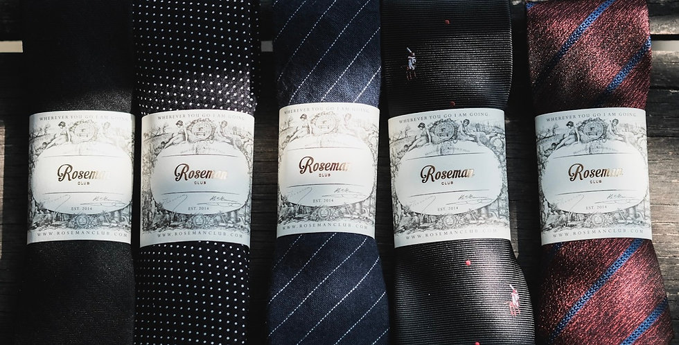 ROSEMAN NECKTIE - GENTLE MANNER