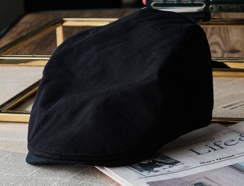 IVY CAP - MIDNIGHT BLACK