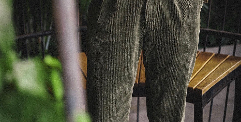 BAXTON PANTS - OLIVE GREEN
