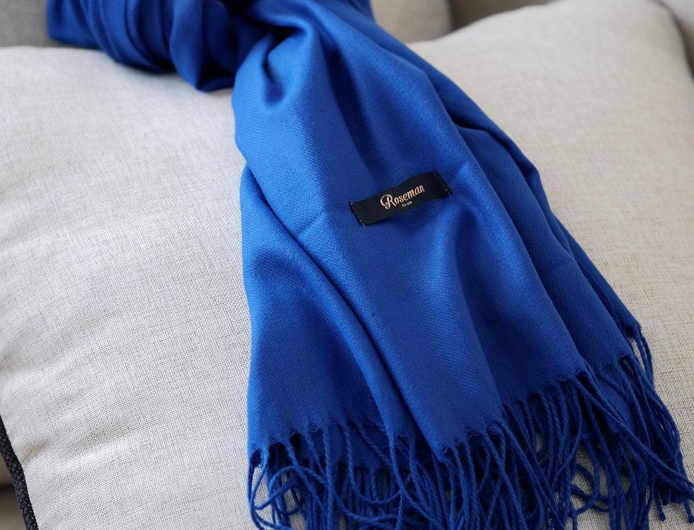 ROSEMAN SCARF - ELECTRIC BLUE #22