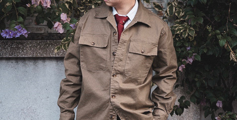 EDMUND JACKET - BROWN