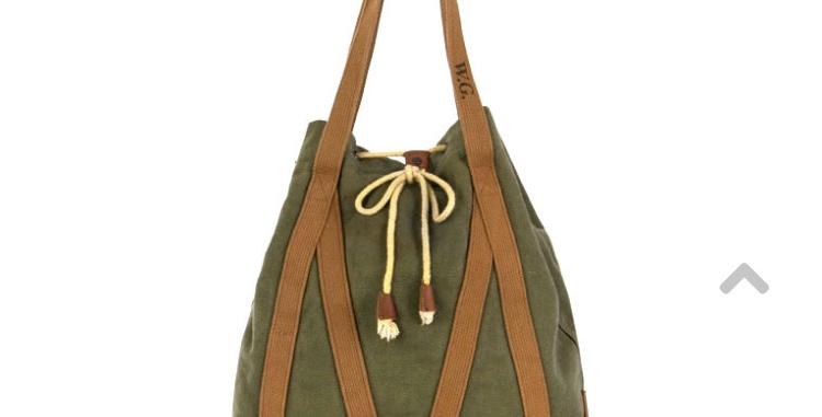 WG - NULLABOUR Tote Bag - SAGE