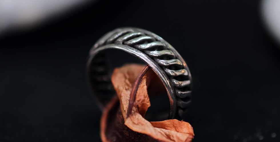 SILVER925 RING - TRIBAL