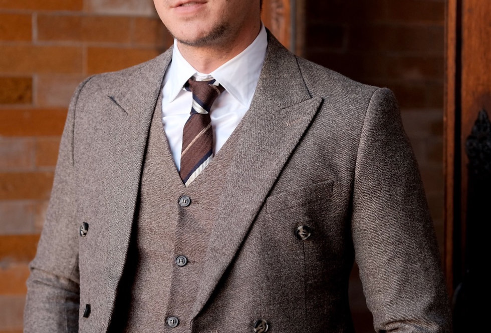 TWEED BROWN JACKET
