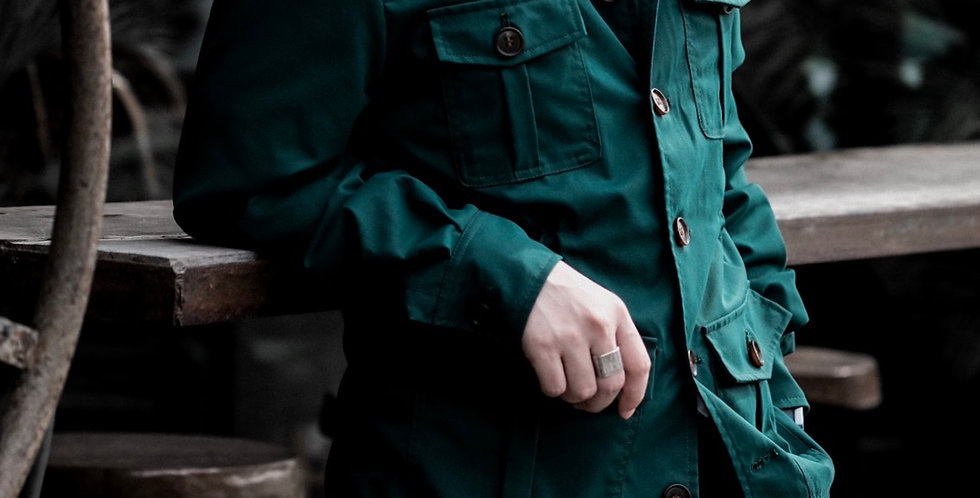 DYLAN DOWN JACKET - FOREST GREEN