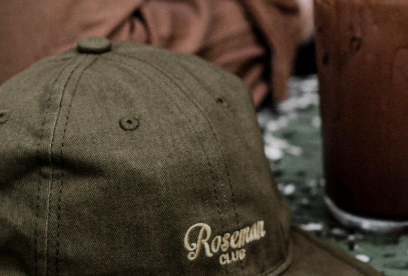 ROSEMAN CAP - SAGE GREEN