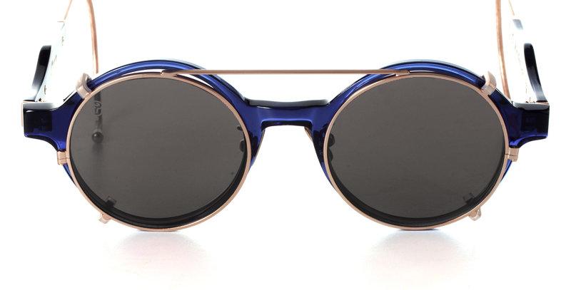 BEETLE BLUE ROYAL X CLIP ON BLACK