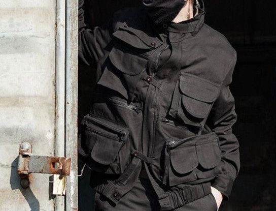 HUNTSMAN JACKET - BLACK