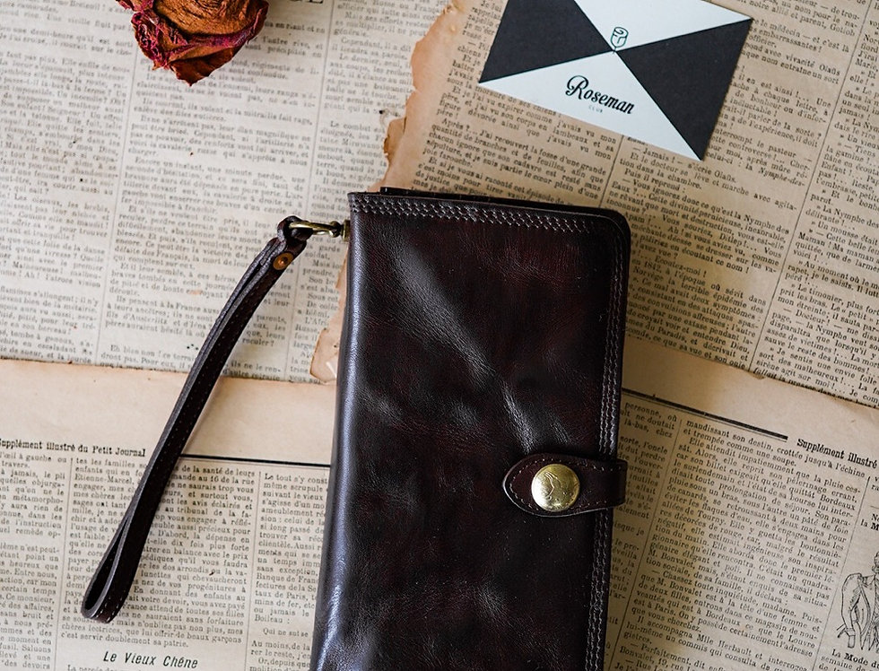 SPEAKEASY WALLET - BROWN