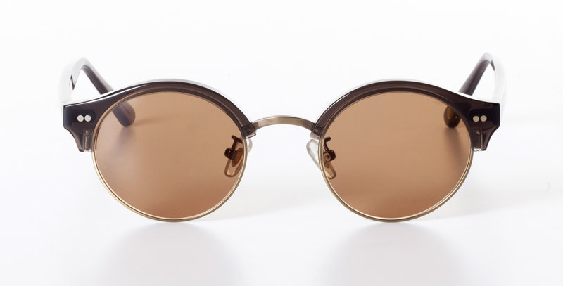 ALFIE CHARCOAL - SUNGLASSES SEPIA