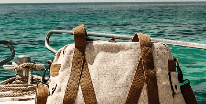 WG - LARGE TRAP DUFFLE BAG - NATURAL