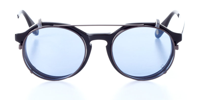 DARWIN MIDNIGHT BLACK x CLIP ON SKY BLUE