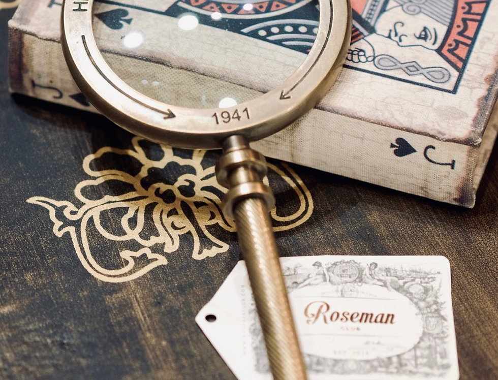 MAGNIFYING GLASS - SMALL BRASS