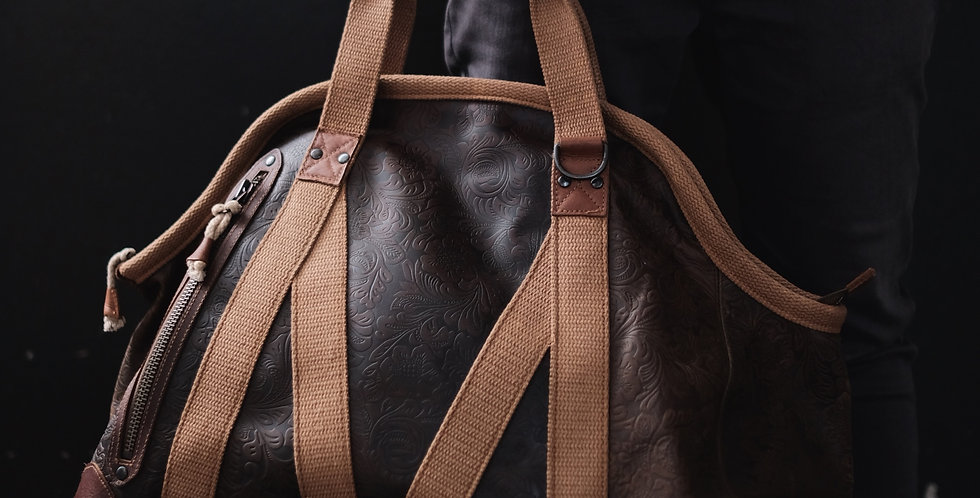 WG - TRAP DUFFLE LEATHER LARGE