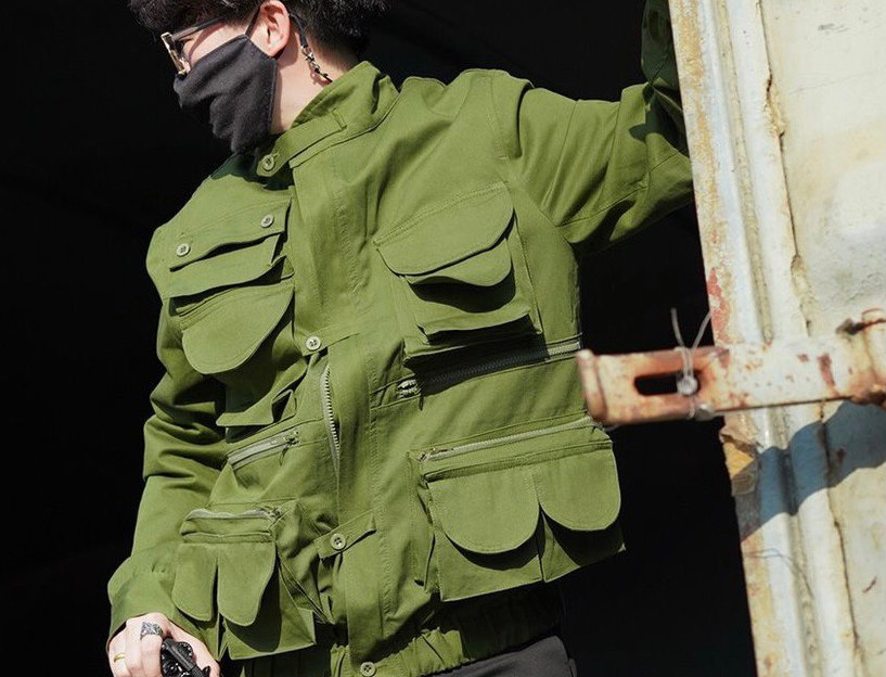 HUNTSMAN JACKET - GREEN